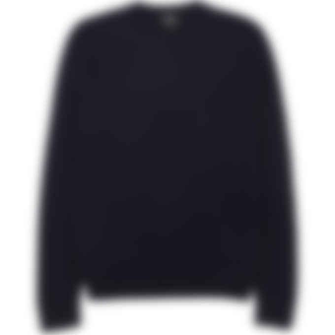 A.P.C. - Han Knit Pullover Sweater - Dark Navy Blue