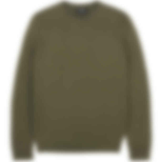 A.P.C. - Han Knit Pullover Sweater - Military Khaki
