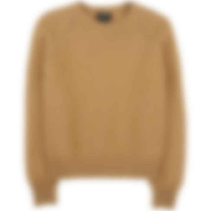 A.P.C. - Alyssa Knit Pullover Sweater - Camel