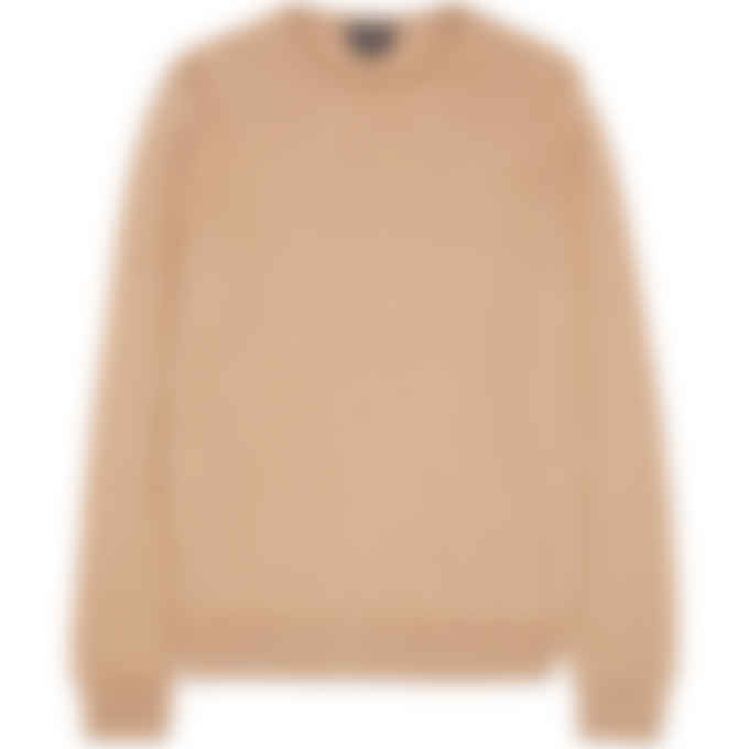 A.P.C. - King Knit Pullover Sweater - Heather Beige