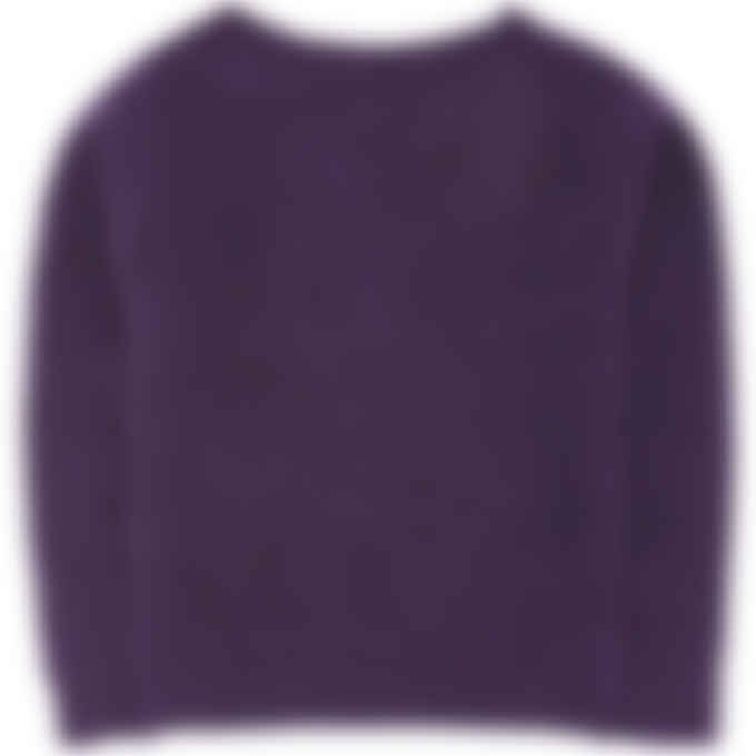 A.P.C. - Laya Knit Pullover Sweater - Purple
