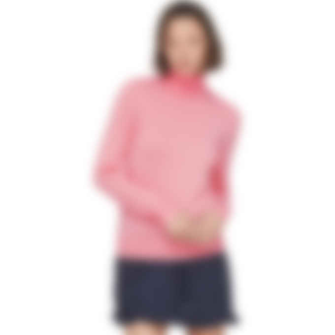A.P.C. - Sandra Knit Pullover Sweater - Pink